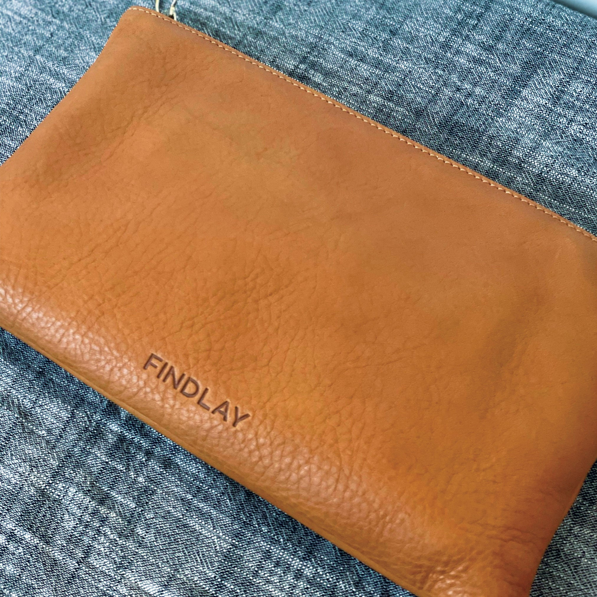 "Perfect Zip Pouch - ""Brynn"""