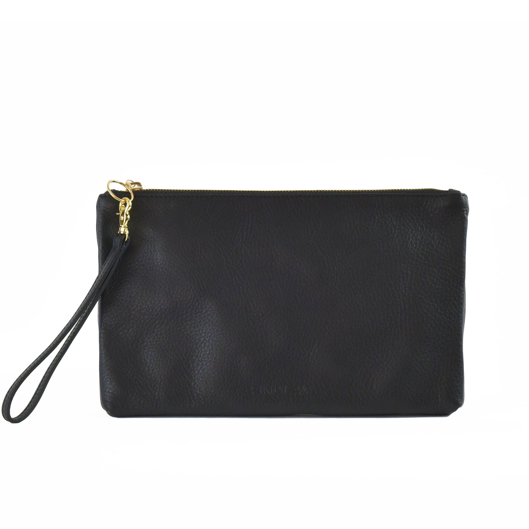 Perfect Zip Pouch, Black