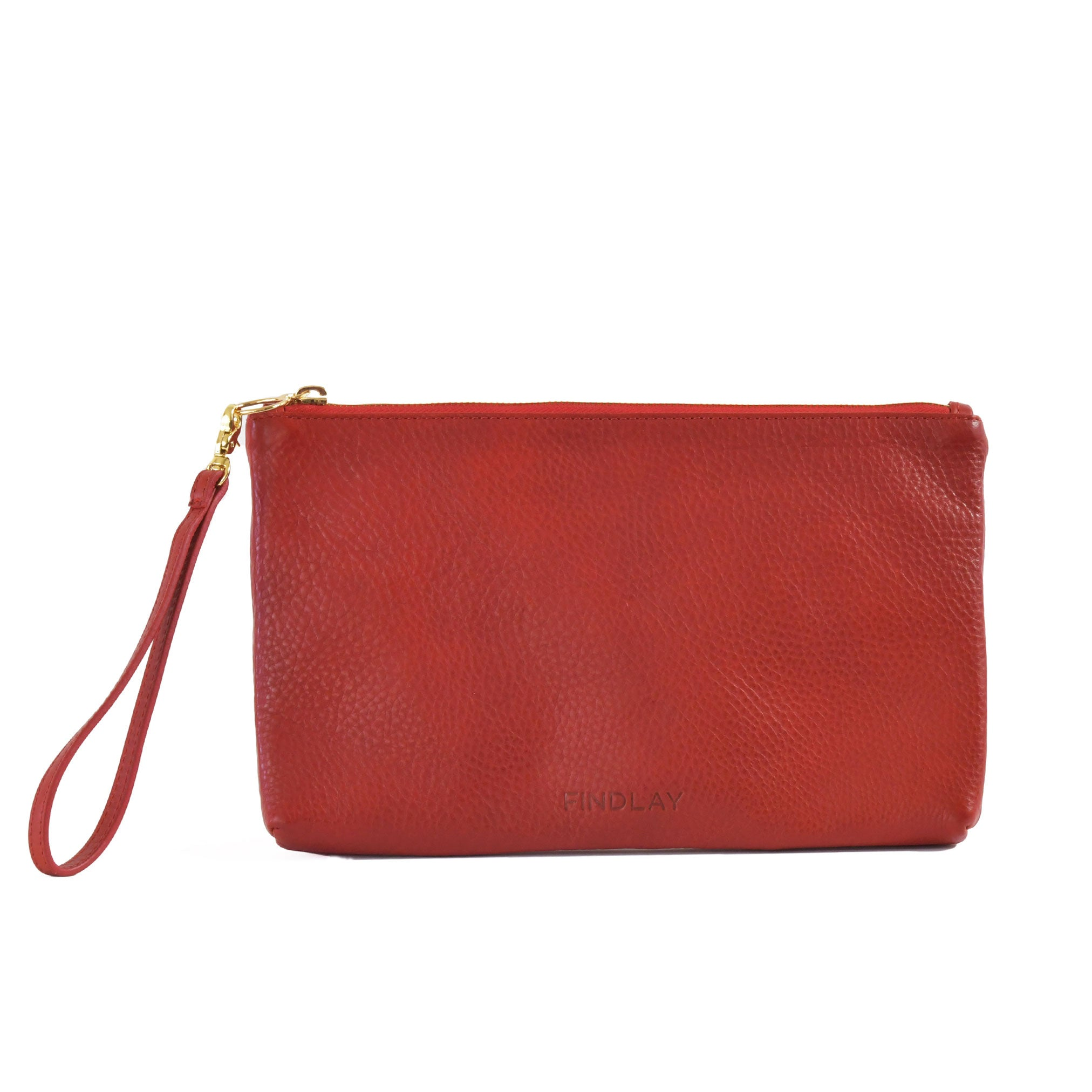 Perfect Zip Pouch, Cherry
