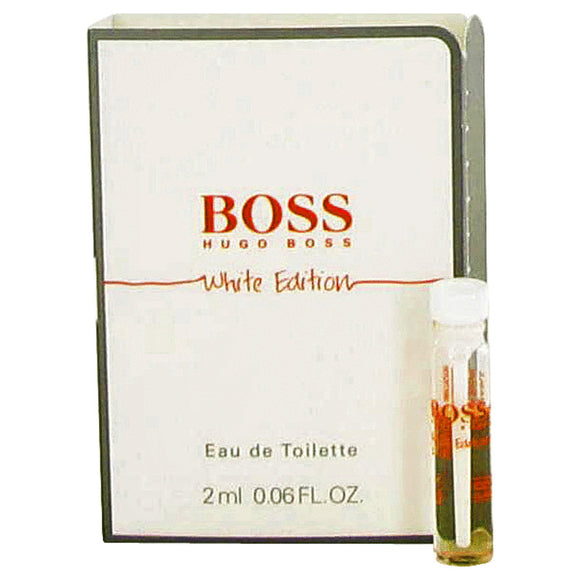 Boss In Motion White Vial (sample) By Hugo Boss