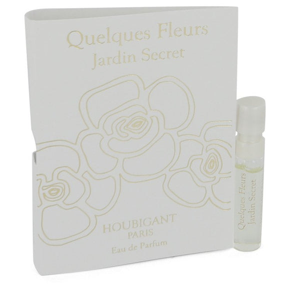 Quelques Fleurs Jardin Secret Vial (sample) By Houbigant