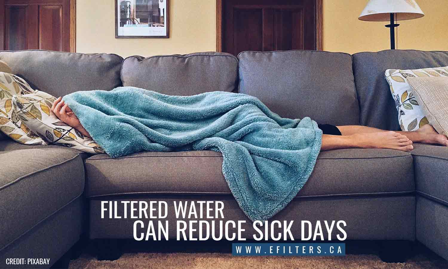 Filtered water can reduce sick days