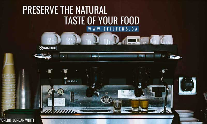 Preserve the natural taste of your food