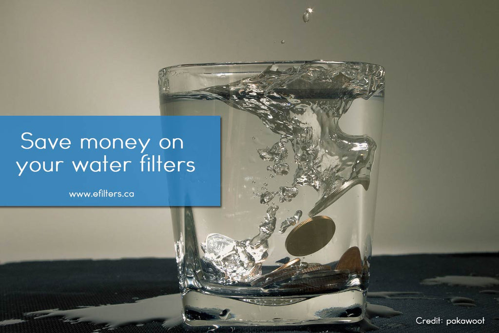 Save money on your water filters