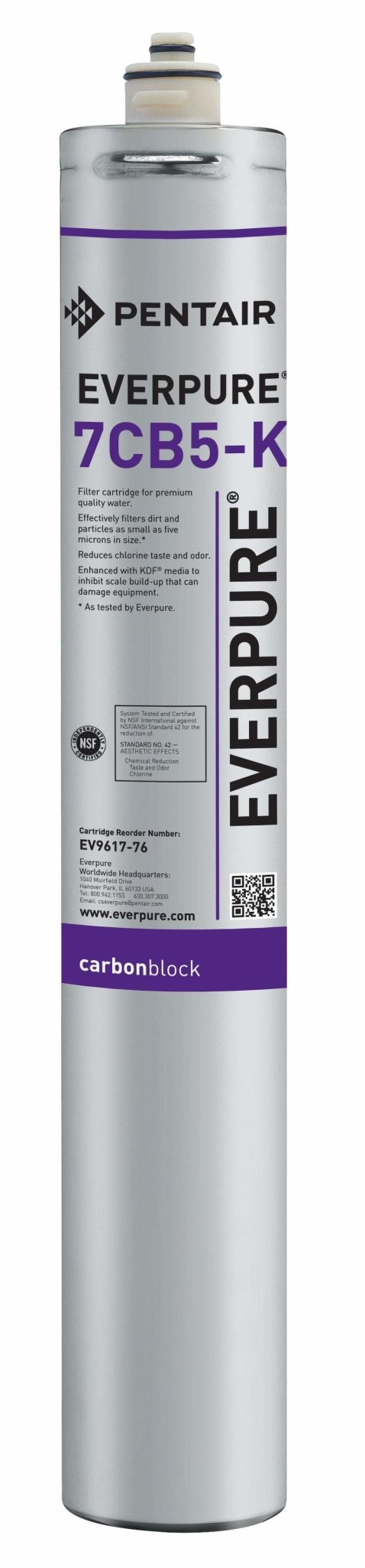 Everpure 7CB5-K Cartridge EV9617-76 - Efilters.ca