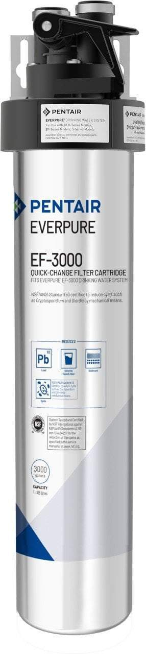 Everpure EF-3000 Drinking Water System EV9857-00 (3,000 gallons) - Efilters.ca