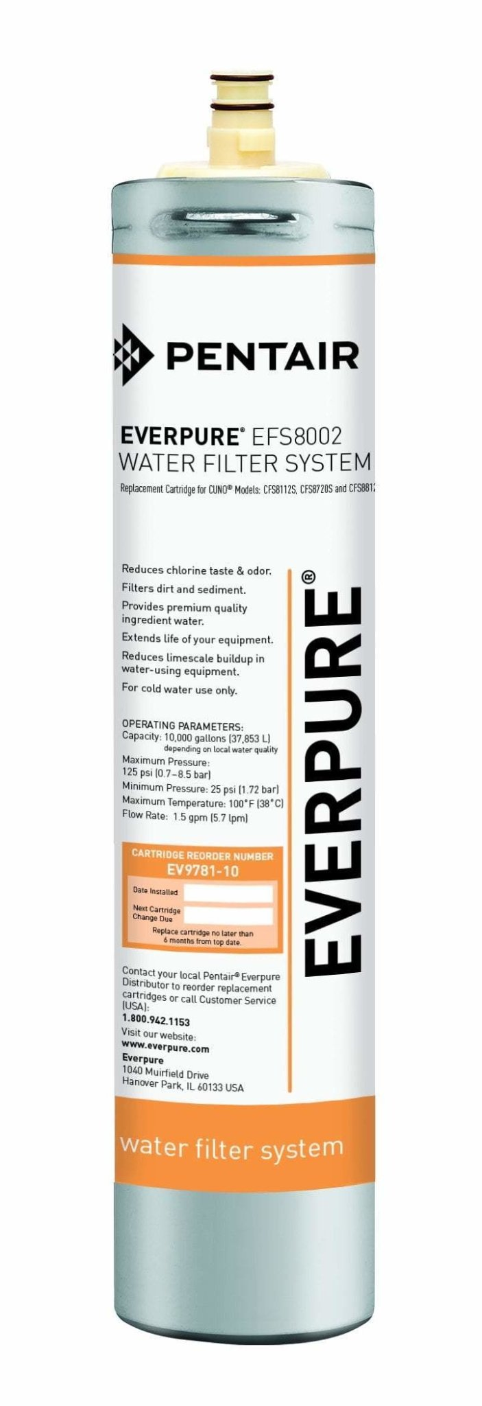 Everpure EFS8002 Cartridge EV9781-10 - Efilters.ca