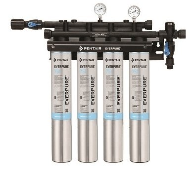 Everpure Insurice Quad 7SI Water Filter System EV9324-76 - Efilters.ca