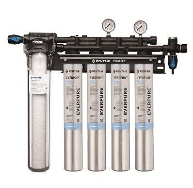 Everpure Insurice Quad PF-7SI Water Filter System EV9324-77 - Efilters.ca