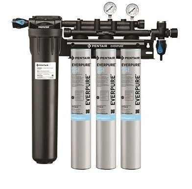 Everpure Insurice Triple PF-7SI Water Filter System EV9324-75 - Efilters.ca
