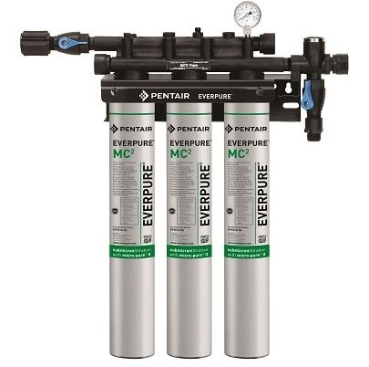 Everpure QC7i-MC(2) Triple Water Filter System EV9275-03 - Efilters.ca