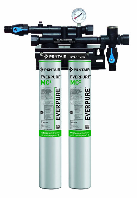 Everpure QC7i-MC(2) Twin Water Filter System EV9275-02 - Efilters.ca