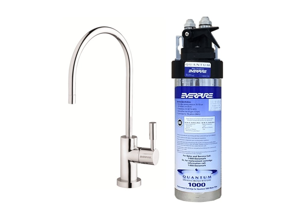 Everpure Quantum 1000 Drinking Water System Kit #UC1000 (750 gallons) - Efilters.ca