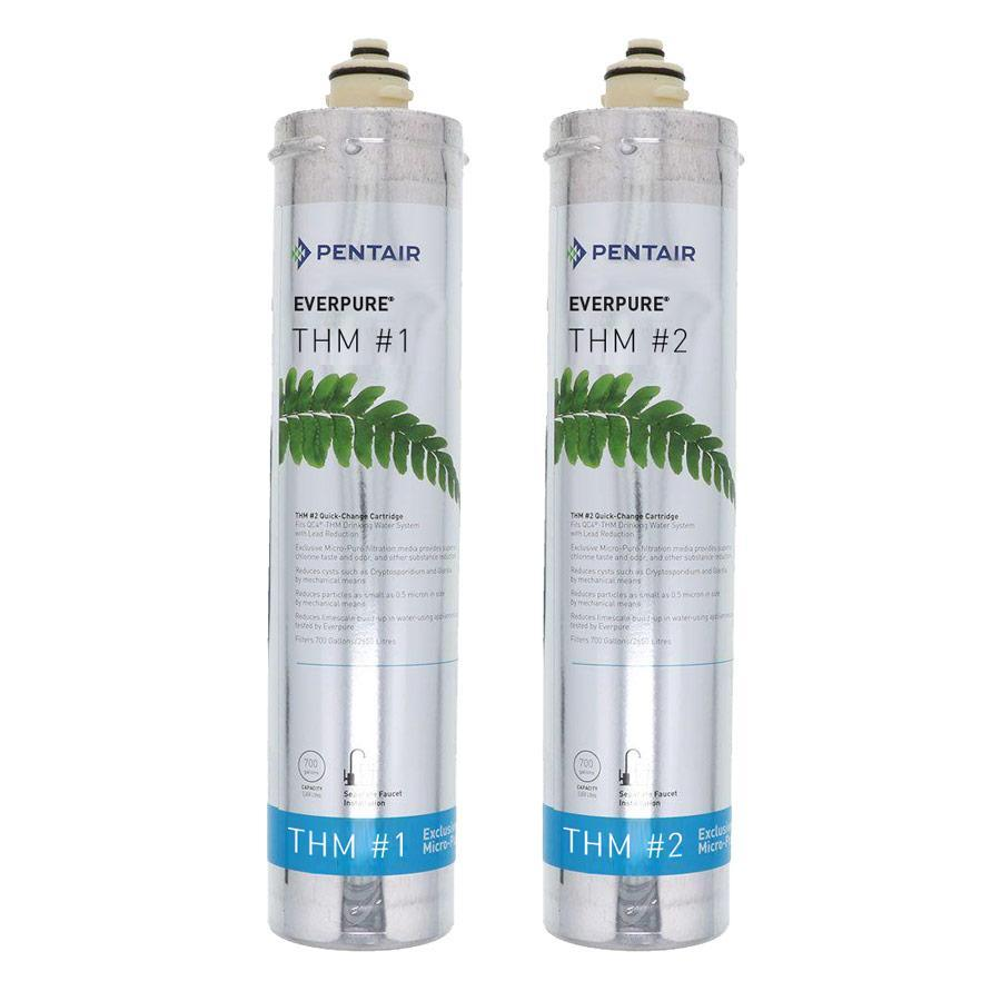 Everpure THM #1 & THM #2 Cartridge Kit #THMKIT (700 gallons) - Efilters.ca