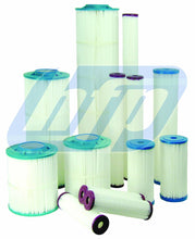 "Load image into Gallery viewer, Harmsco Poly Pleat 10"" Big Blue 1 Mic. Cartridge - PP-BB-10-1 (8 pack) - Efilters.ca"