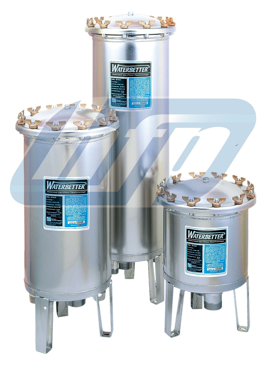 Harmsco Waterbetter 90 Housing - 100 gpm - WB90SC2 - Efilters.ca