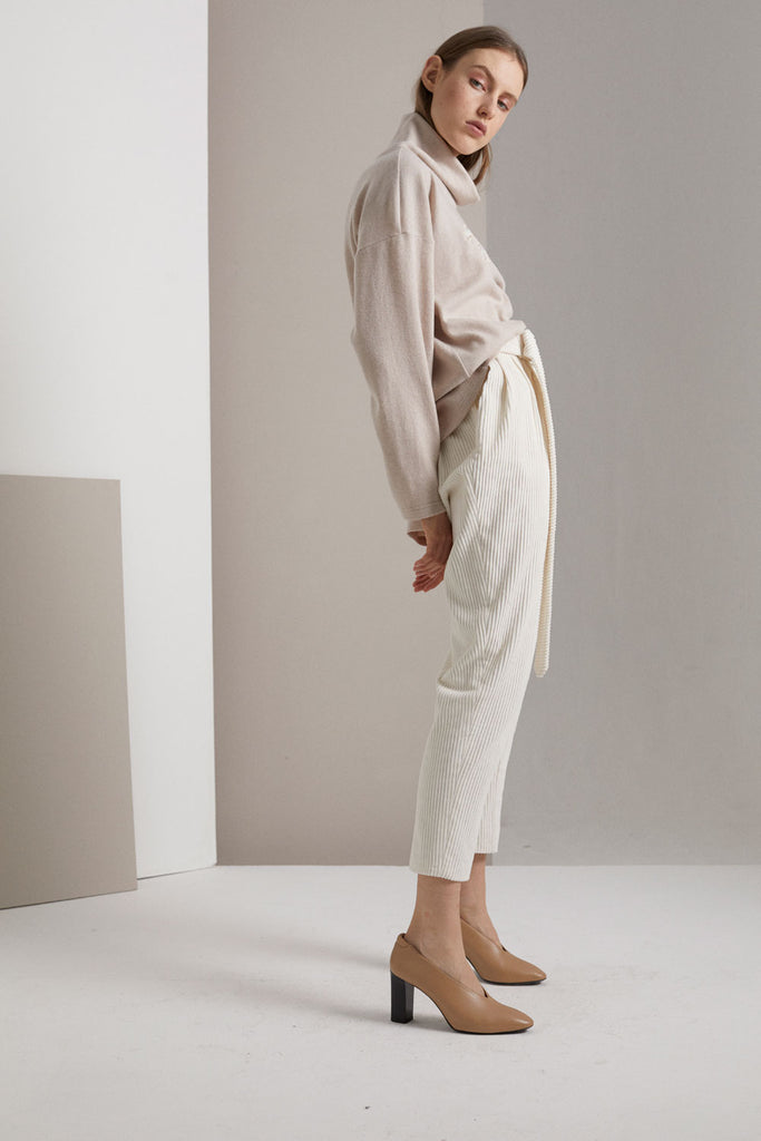 MALOJA PLEAT TROUSERS
