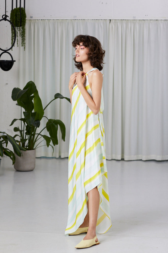 GIALLO SCARF DRESS