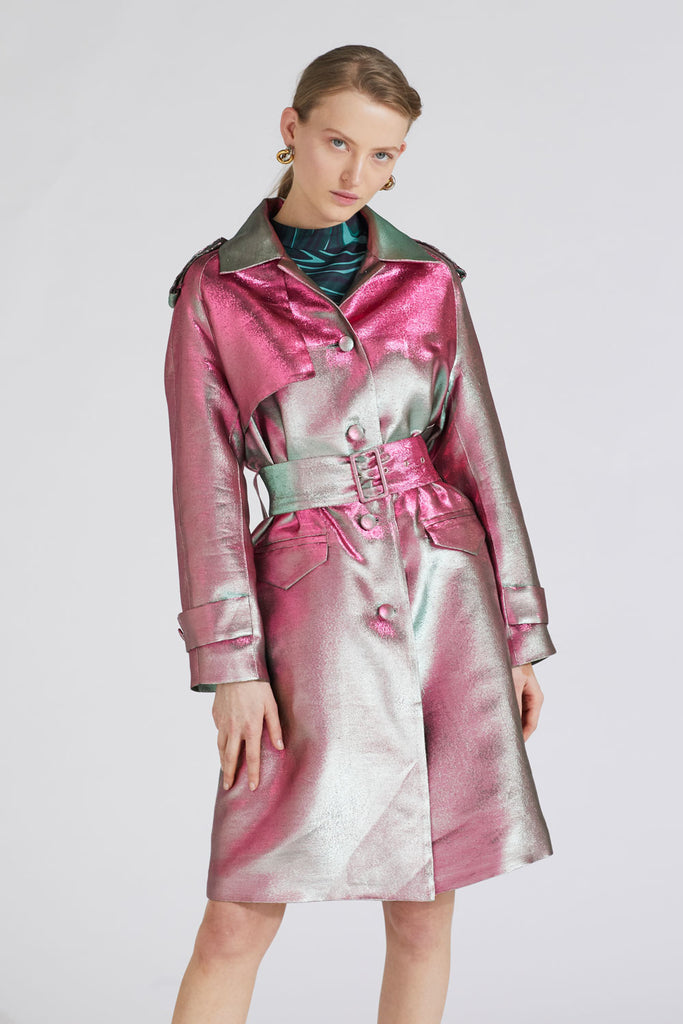 ORCHID TRENCHCOAT