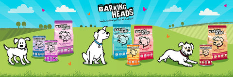 Barking Heads dog food range