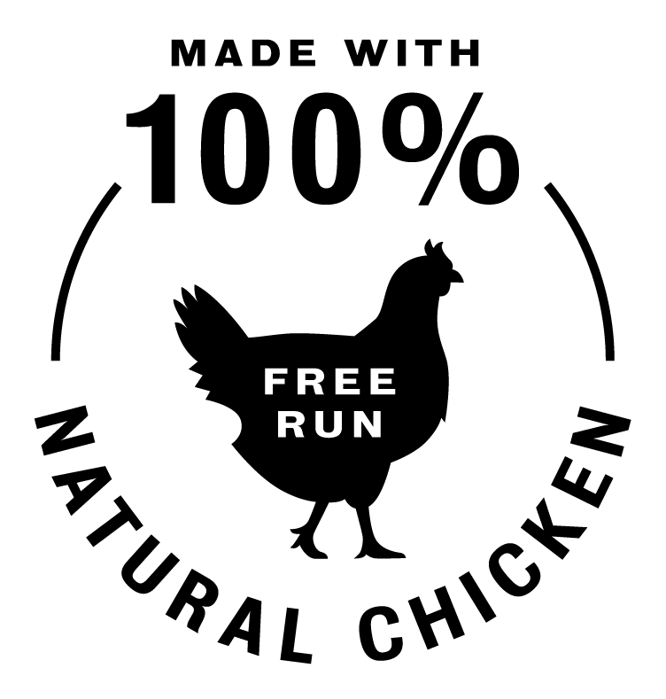 100% free run chicken icon