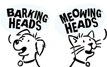 Barking Heads & Meowing Heads Logo