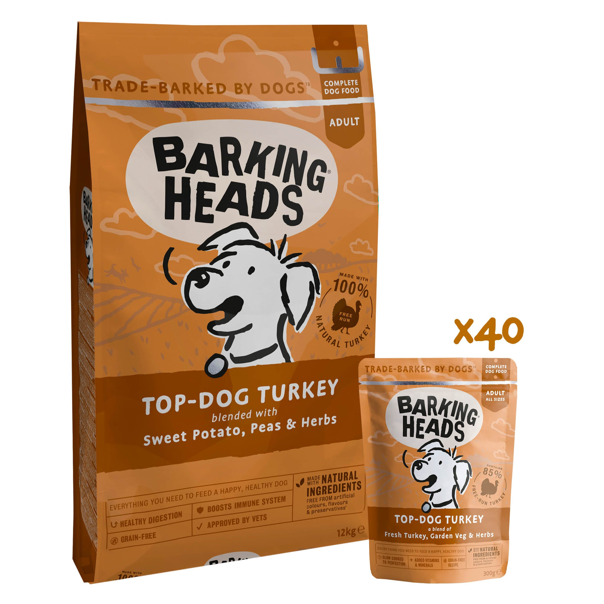 barking heads top dog turkey mixed bundle
