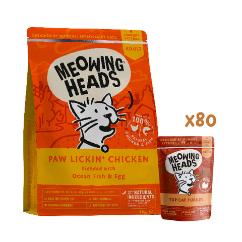 meowing heads Turkey Tuesday Cat Bundle