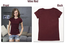 Load image into Gallery viewer, High Quality Plain T Shirt for Summer - XtremeDeals4U