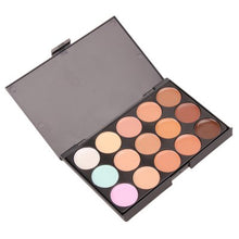 Load image into Gallery viewer, Professional 15 Color Concealer Palette - XtremeDeals4U