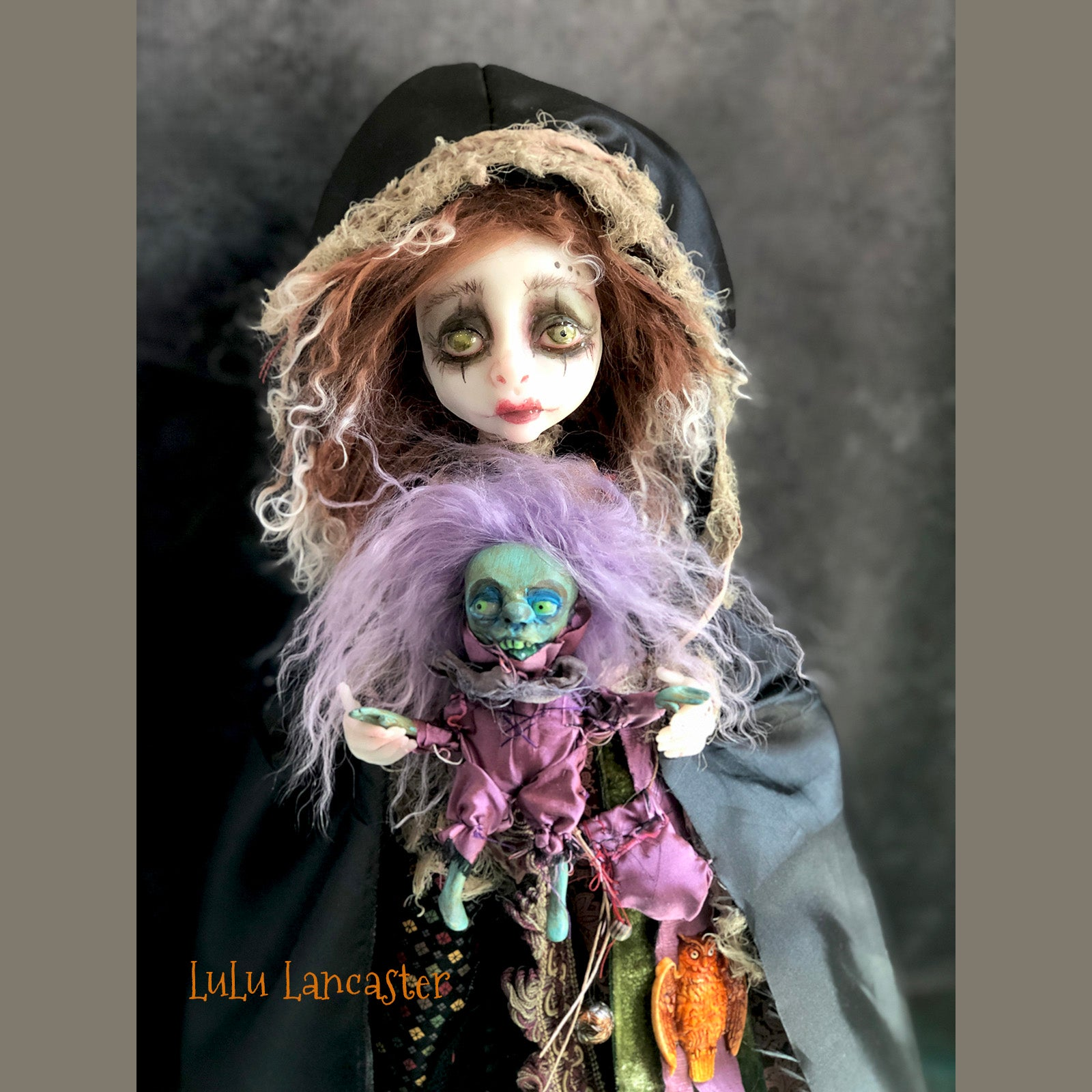 Euphemia Forest Witch OOAK Art Doll LuLusApple