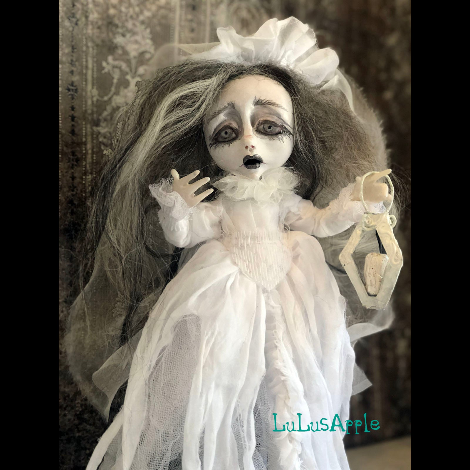 Kasten Purgatory Ghostly Spirit Gothic Victorian LuLusApple Art Doll
