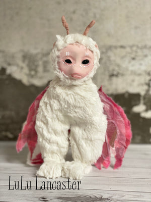 Mart the Moth OOAK Art Doll LuLu Lancaster