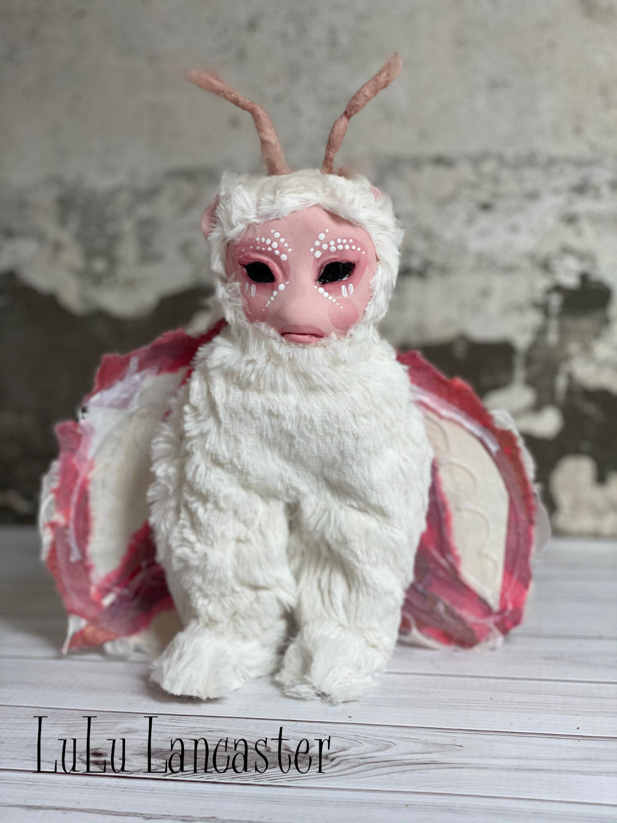 Mort the Moth OOAK Art Doll LuLu Lancaster