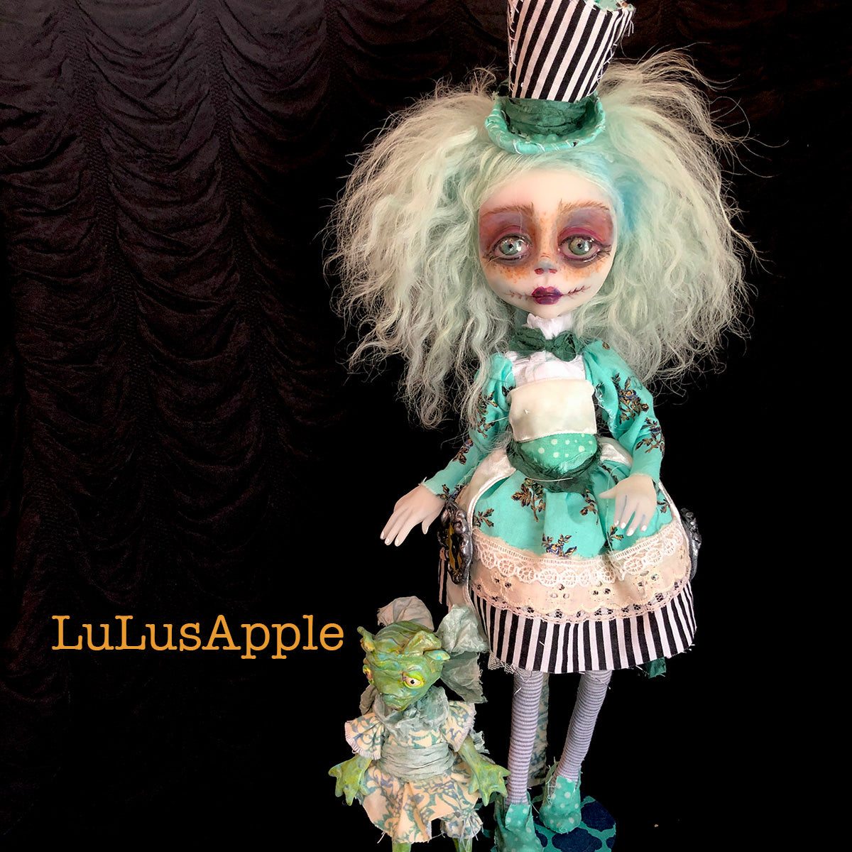Aberdeen of the deep OOAK Art Doll LuLusApple