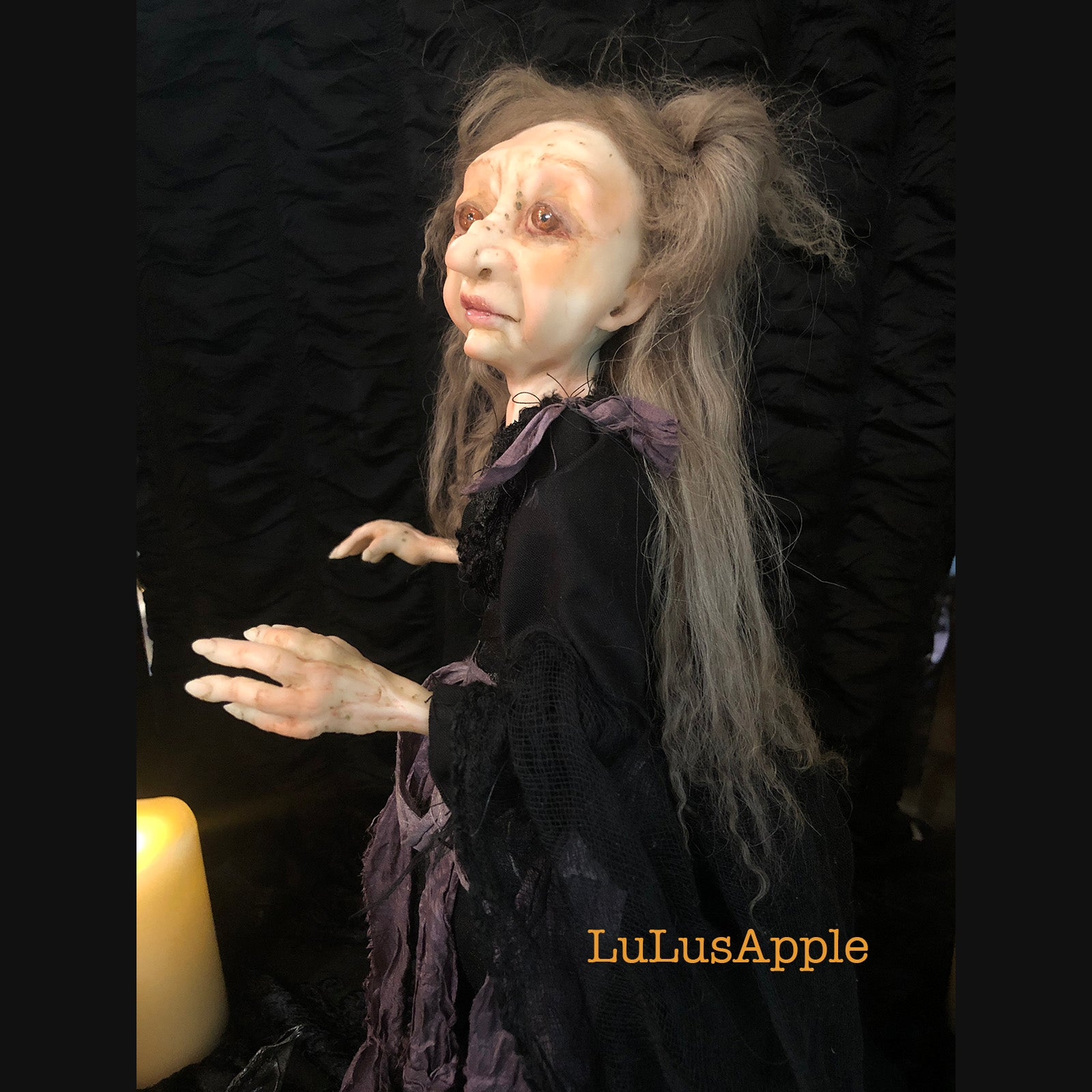 Arlaine Wickety Witch OOAK Large Art Doll LuLusApple