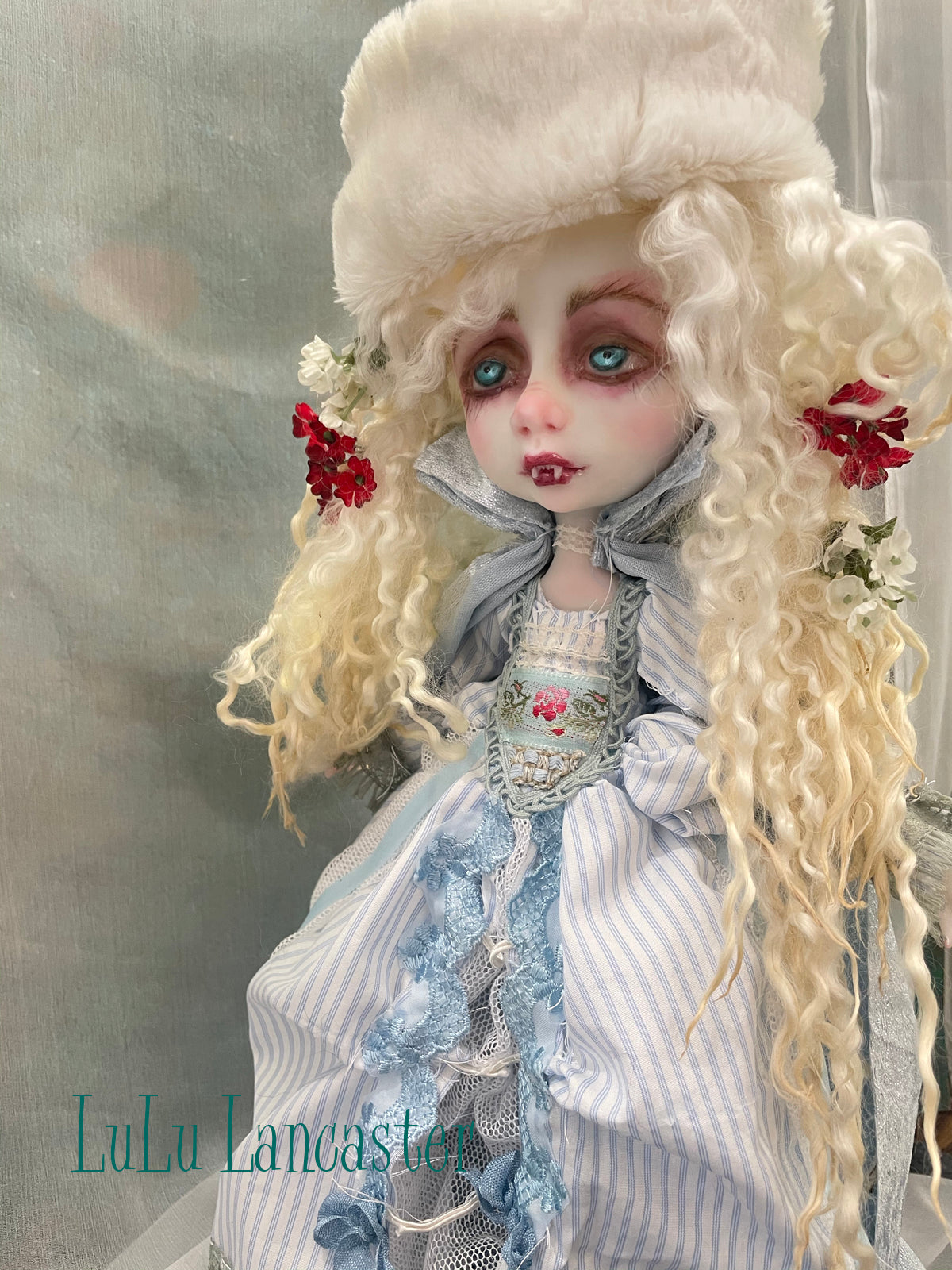 Astrid the Winter Vampire Original LuLu Lancaster Art Doll