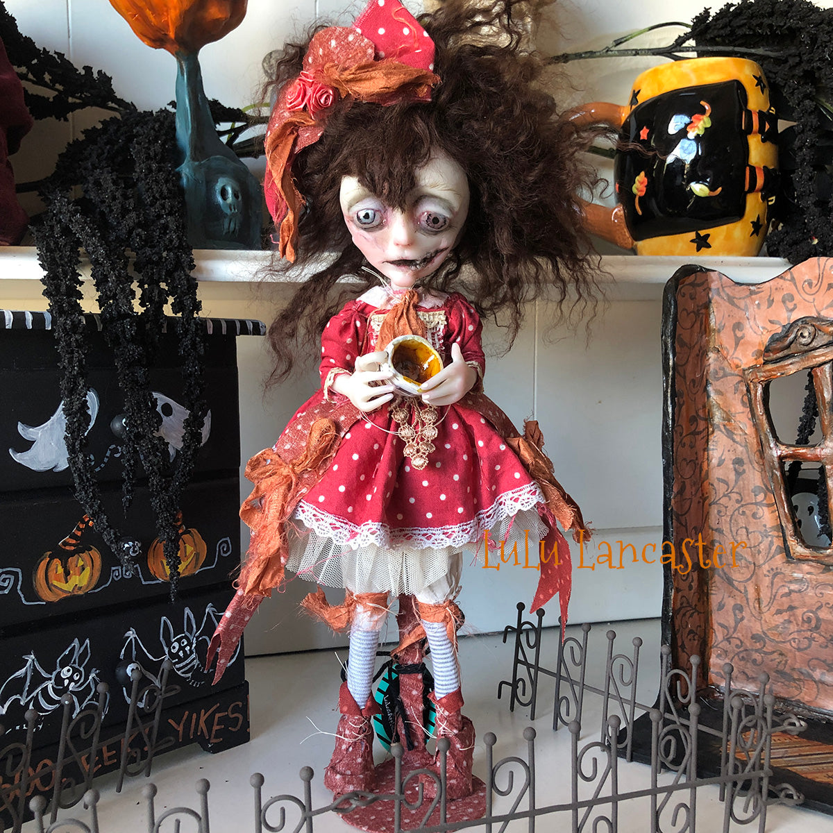 Ruby poor little dead Corpse Halloween OOAK Art Doll LuLusApple