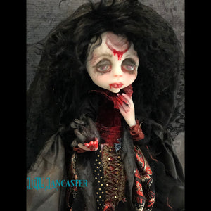 Blood Moon Vampire OOAK Art Doll LuLu Lancaster