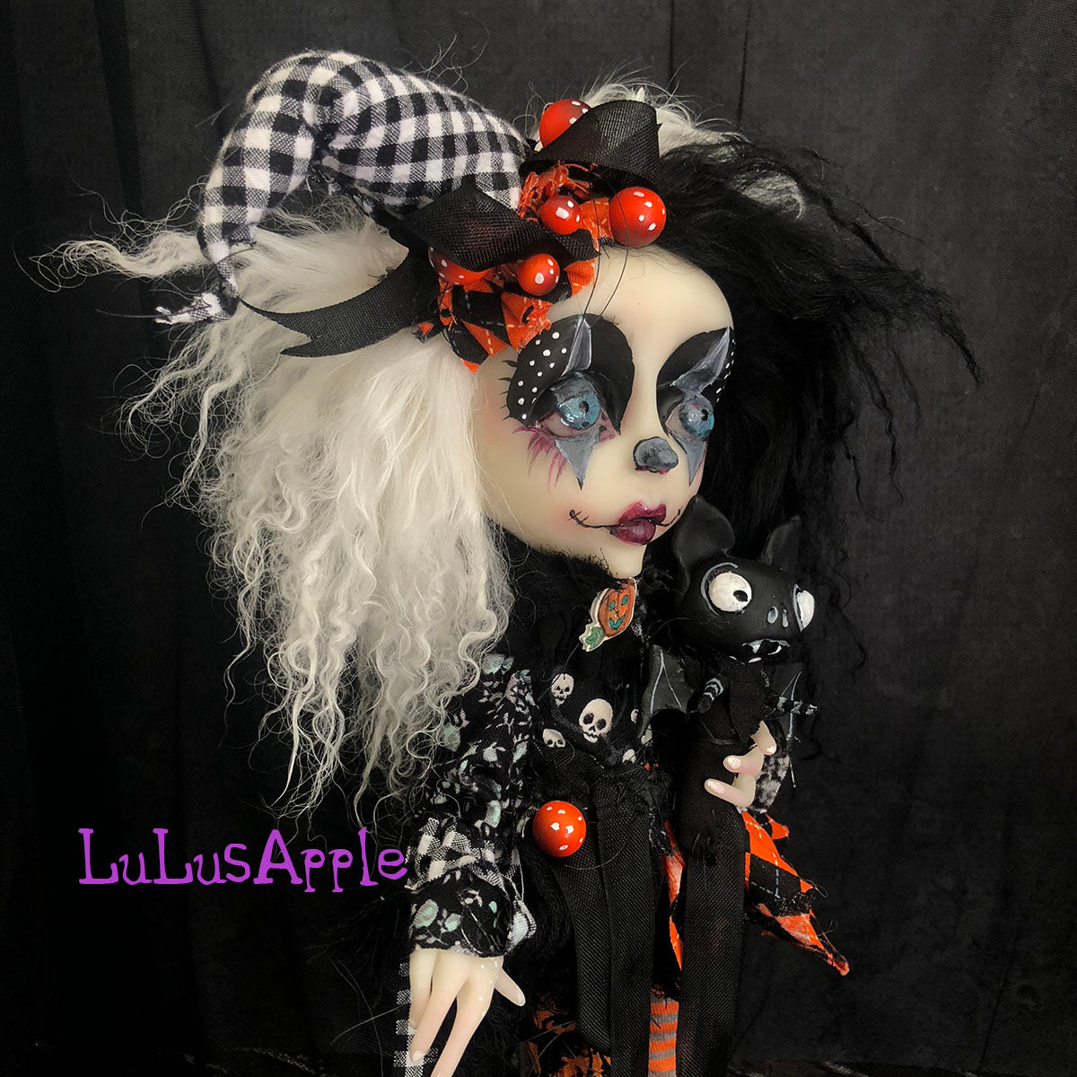 Bramble Poupee Victorian Halloween Dark Circus OOAK Art Doll  LuLusApple