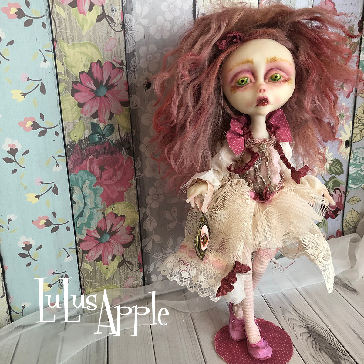 Cassidy Broken Heart  LuLusApple Art Doll