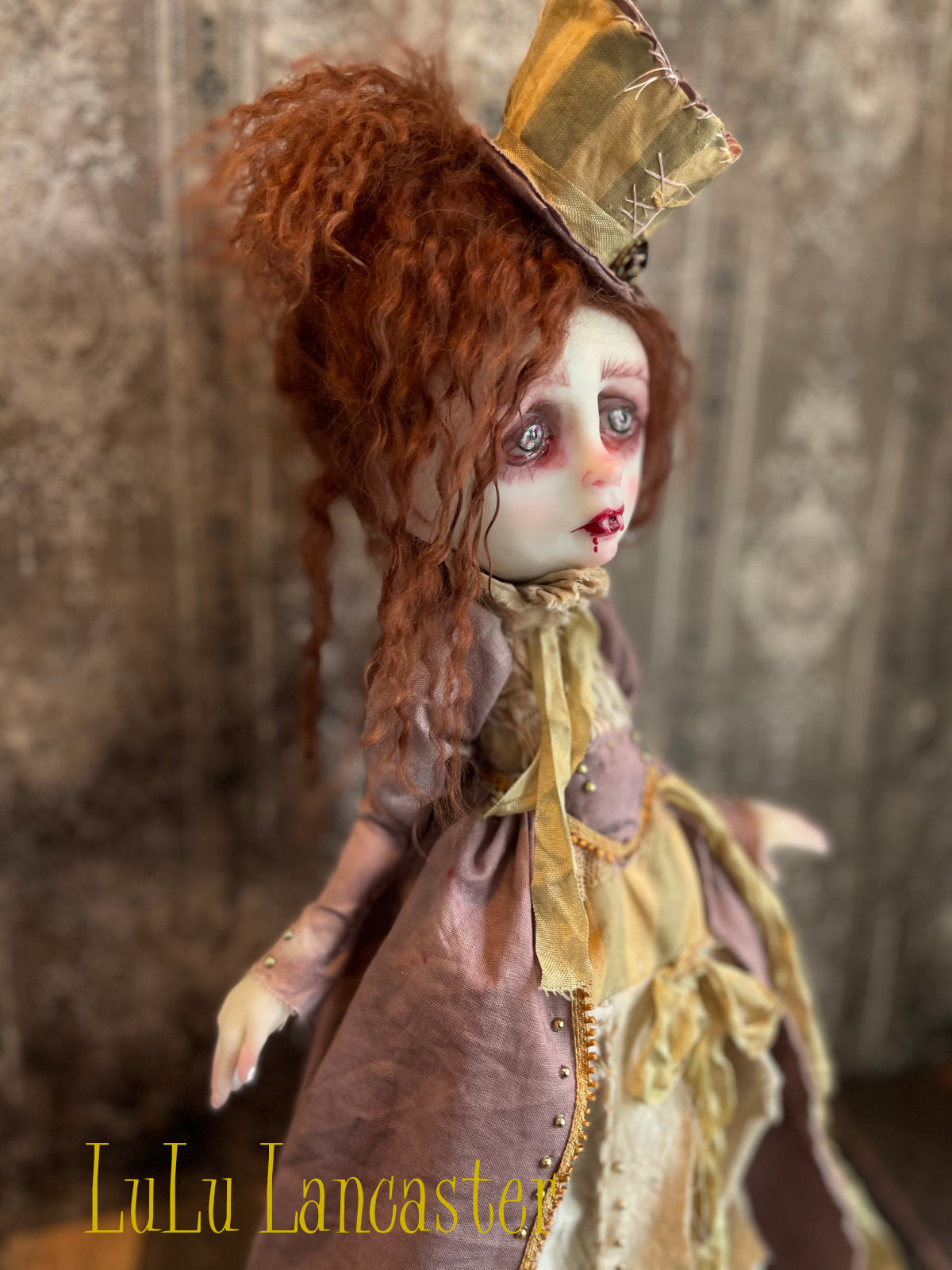 Ceri the Vampire Original LuLu Lancaster Art Doll
