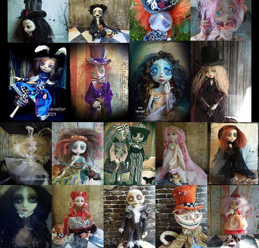 Custom Art Doll Deposit For starting date May 17th 2019