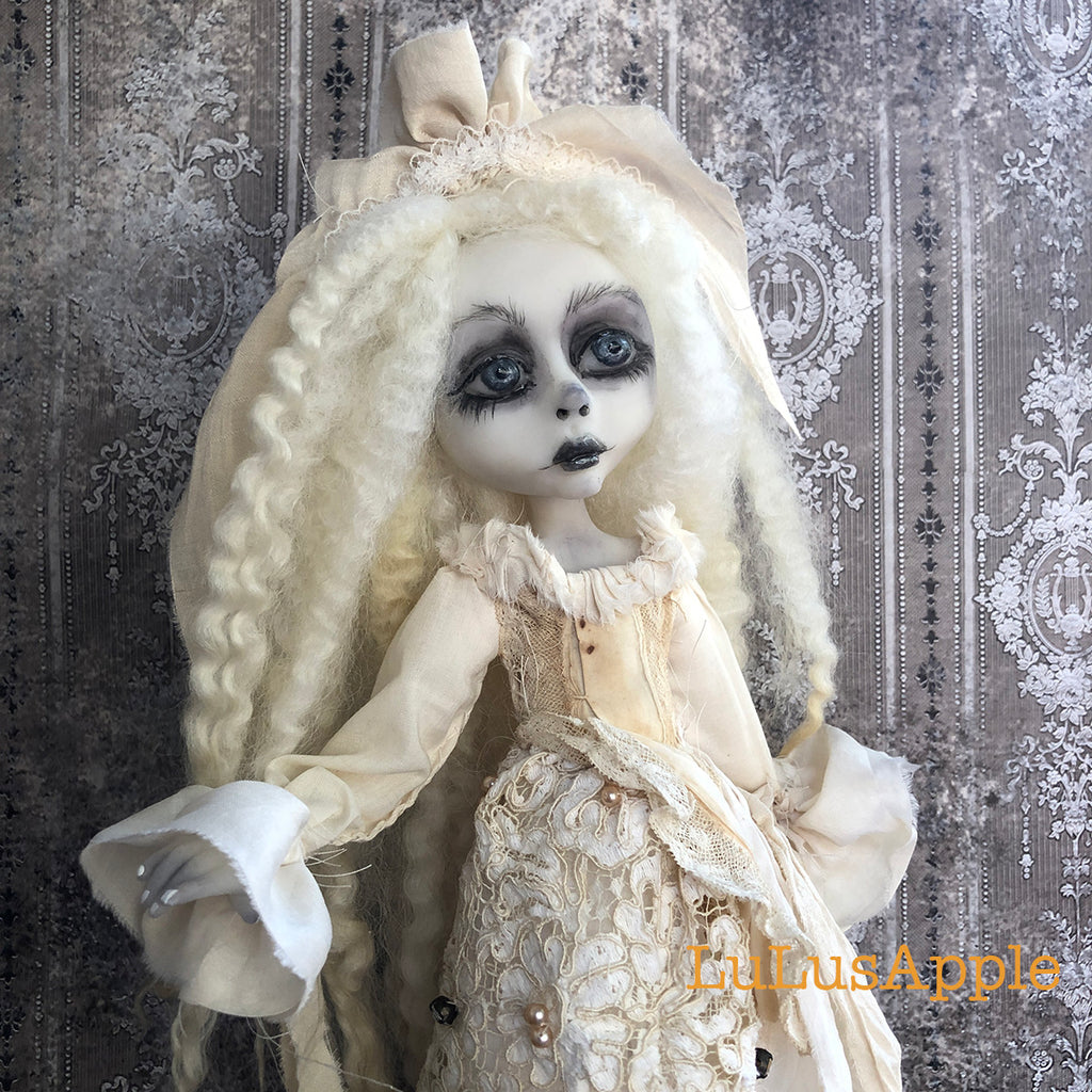 Docie Victorian Ghost OOAK Art Doll LuLusApple
