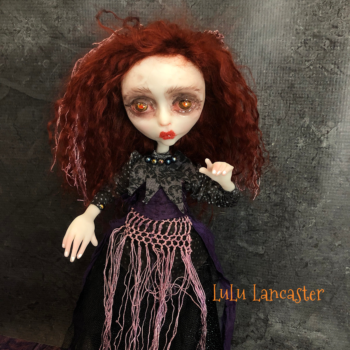 Enid Moon Witch OOAK Halloween Art Doll LuLusApple