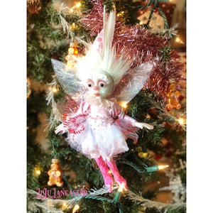 Fee SugarPlum Fairy Ornament OOAK Art Doll LuLu Lancaster