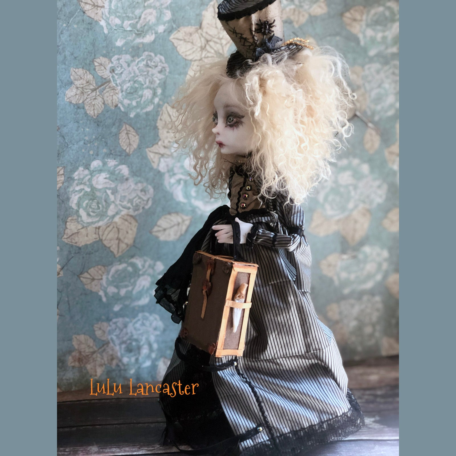 Georgia The Widow Victorian Killer OOAK Art Doll LuLusApple