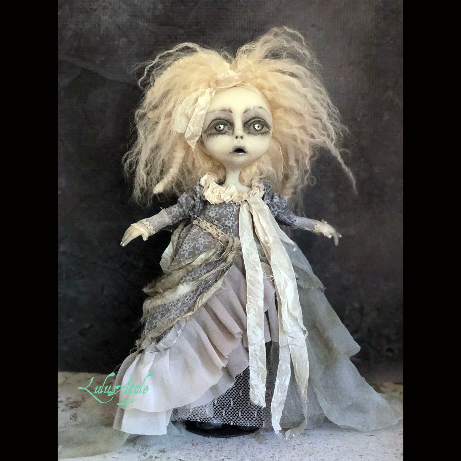 Estelle Ghostly Spirit Gothic Victorian LuLusApple Art Doll