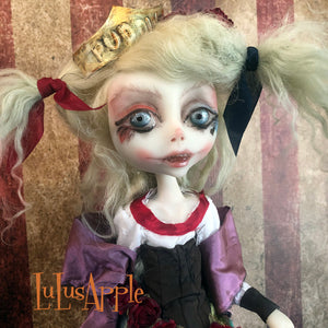 Harley Rose Mashup Daddy's lil monster OOAK Art Doll LuLusApple