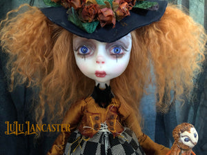 Hazel the Autumn WItch OOAK LuLu Lancaster Art Doll